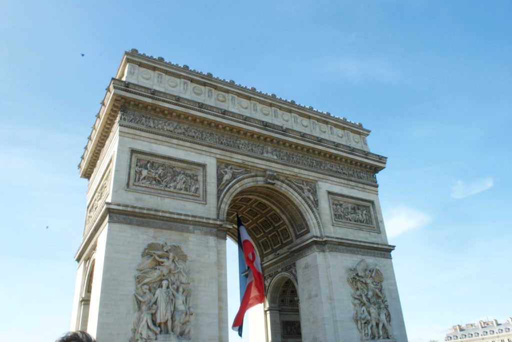 paris with kids - arc de triomphe2