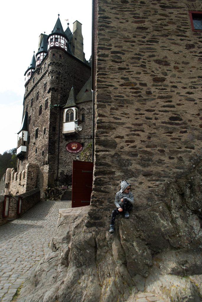 External courtyard at Burg Eltz.