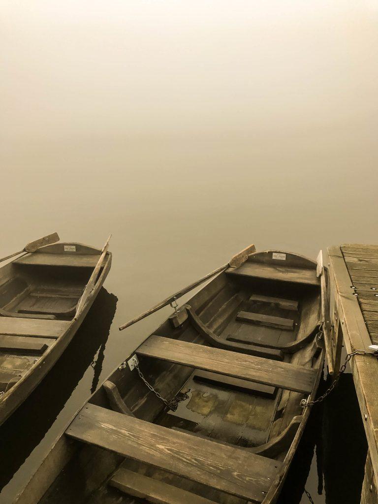 Black Forest Mummelsee fog
