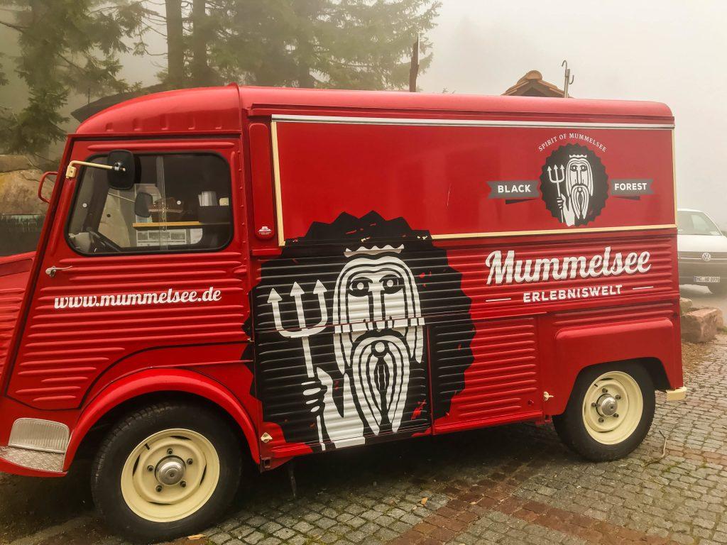 Black Forest Mummelsee truck