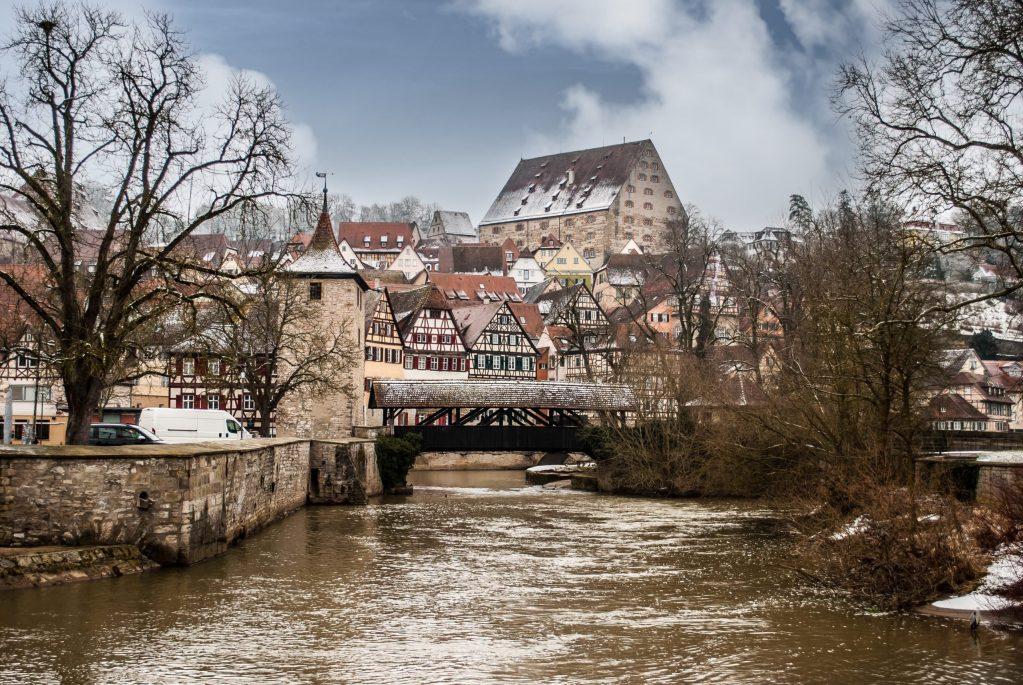 Schwäbisch Hall covered bridges 5