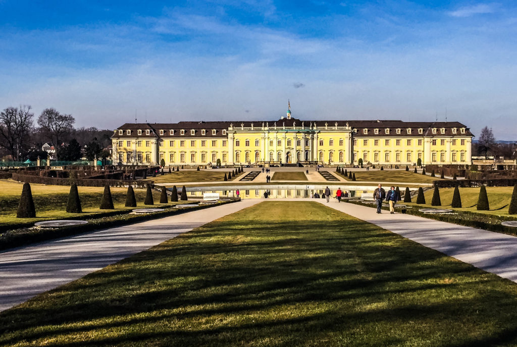 The impressive palace at Ludwigsburg, an easy day trip from Stuttgart.