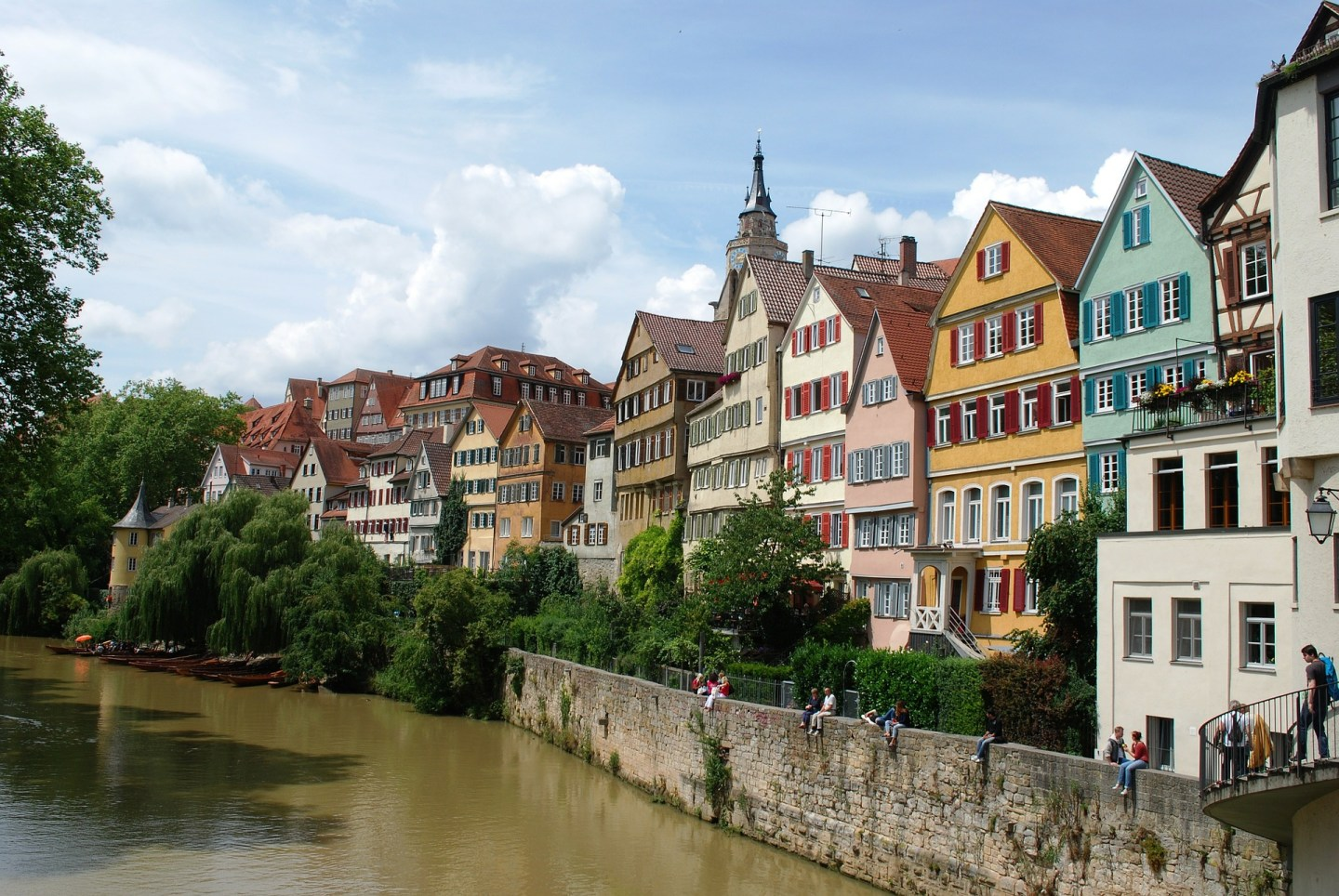 The beautiful Tübingen