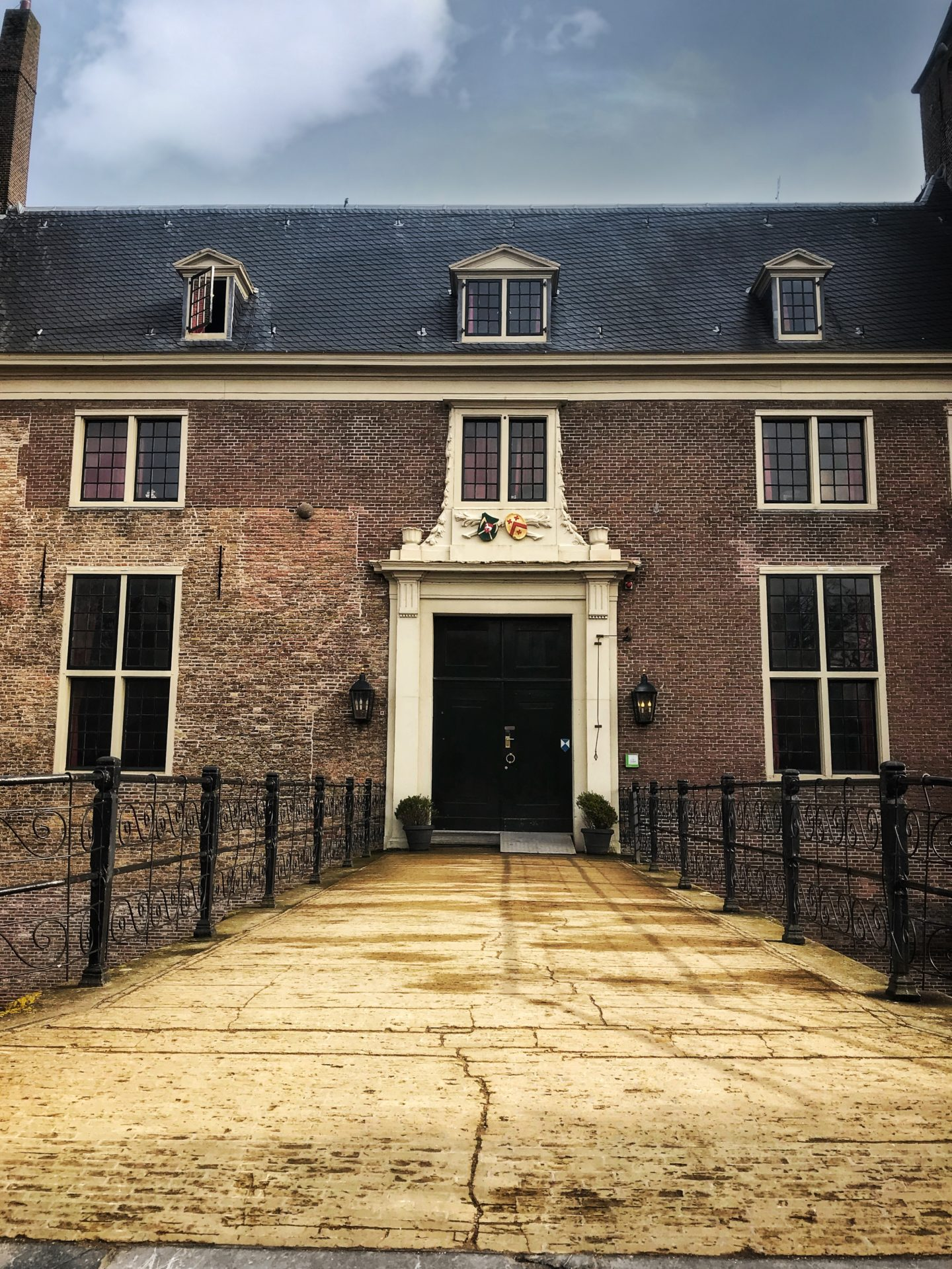 Front door of StayOkay Heemskerk. Don't you want to be staying here?!