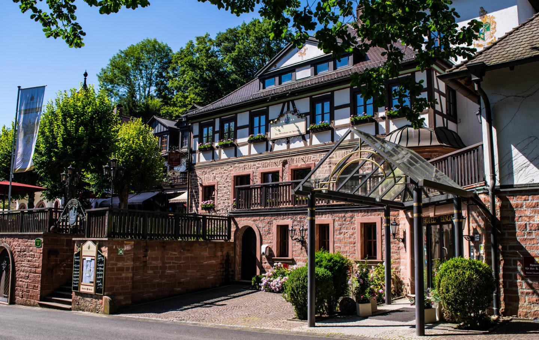 Beautiful Schlosshotel Mespelbrunn