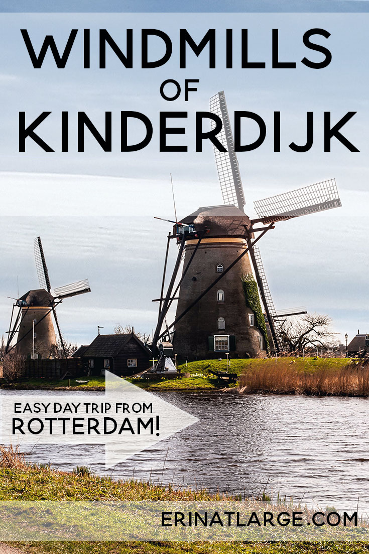 windmills of kinderijk PIN
