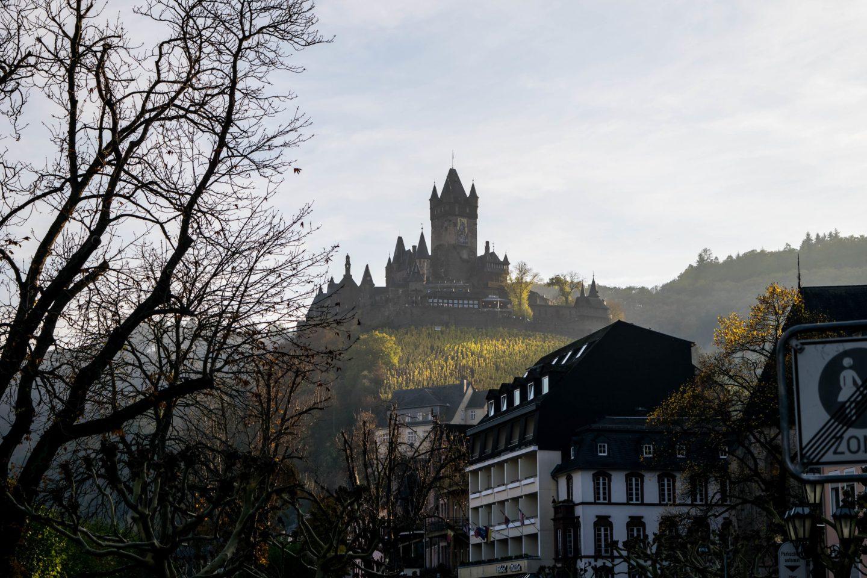 Reichsburg from a distance