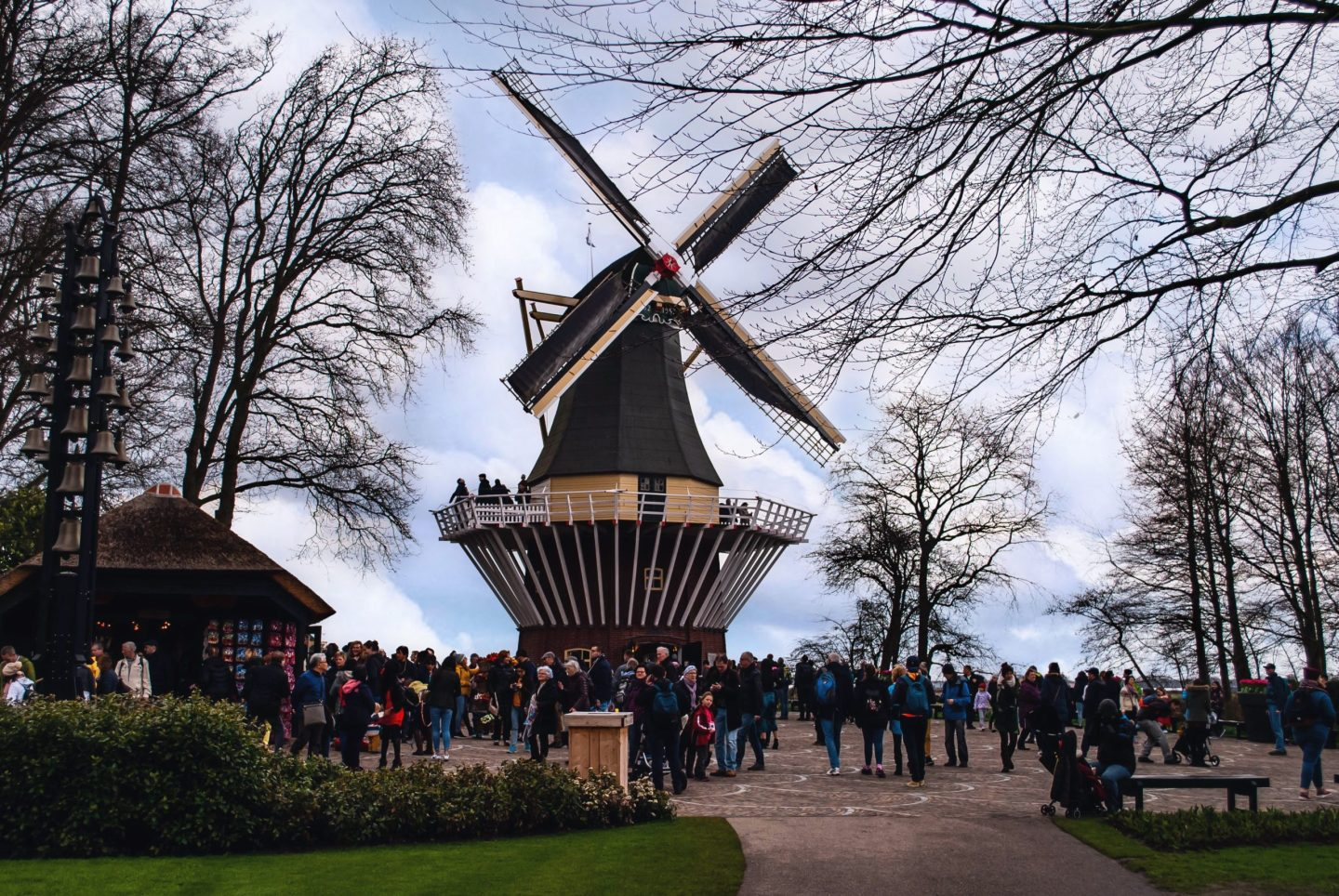 The windmill at Keukenhof