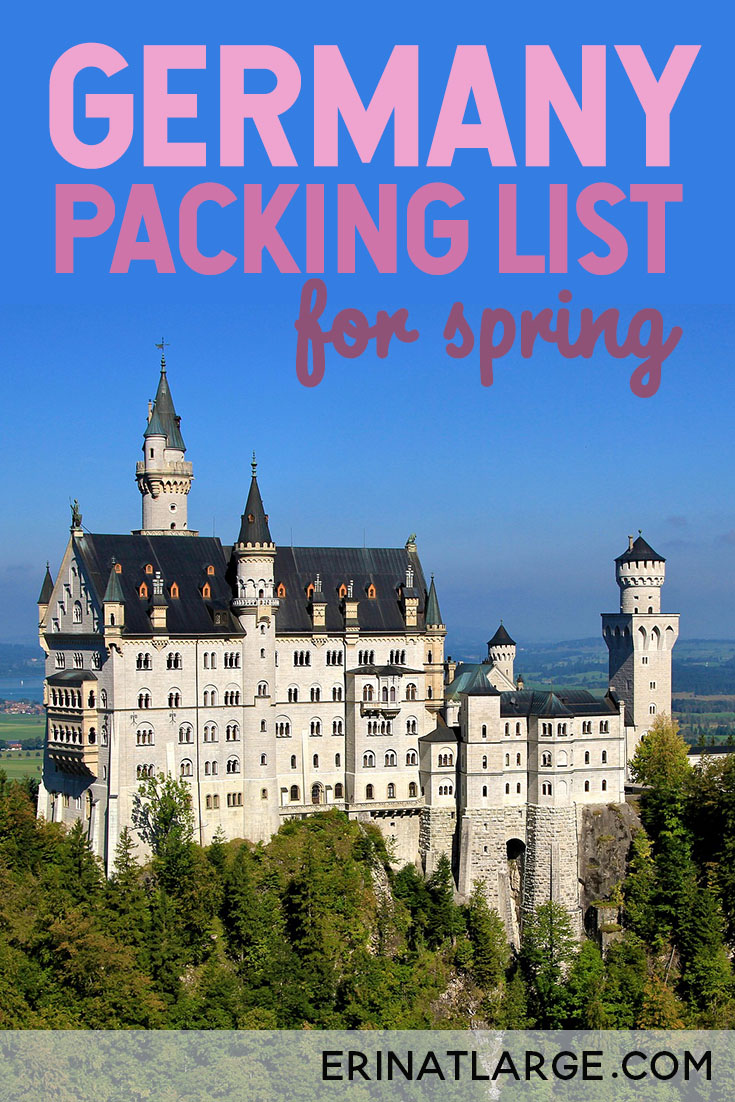 Heading to Berlin, Frankfurt, Munich, Hamburg, or Cologne? I've got you covered with a practical packing list for spring time in Germany.