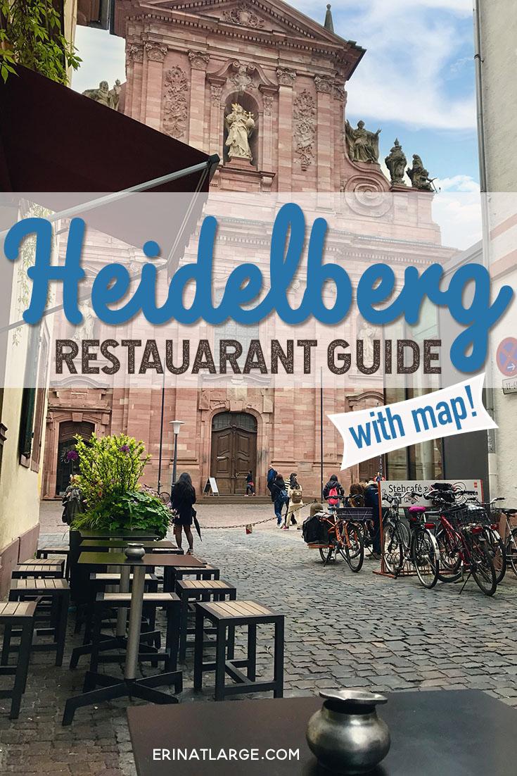 heidelberg restaurant guide PIN