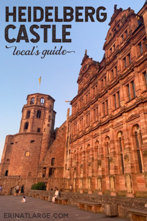 Get the local's guide to how to visit the beautiful Heidelberg Castle in Germany. It's a beautiful ruin that has inspired writers and artists for centuries.