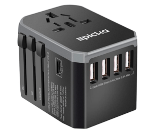 Multi-port plug adaptor