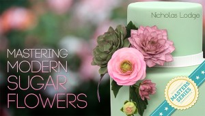 Nicolas Lodge Modern Sugar Flower Craftsy Class Discount Link   ErinBakes.com