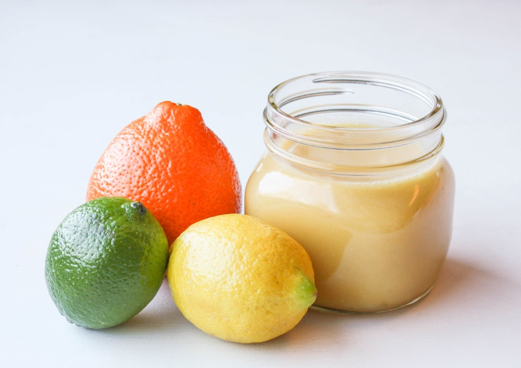 Microwave Triple Citrus Curd | Erin Bakes