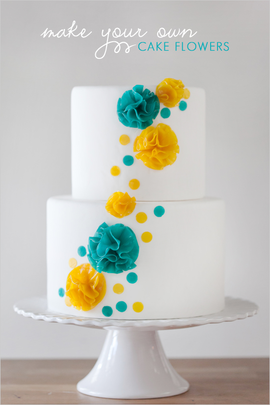 Fruit Roll-Up Flowers | ErinBakes.com