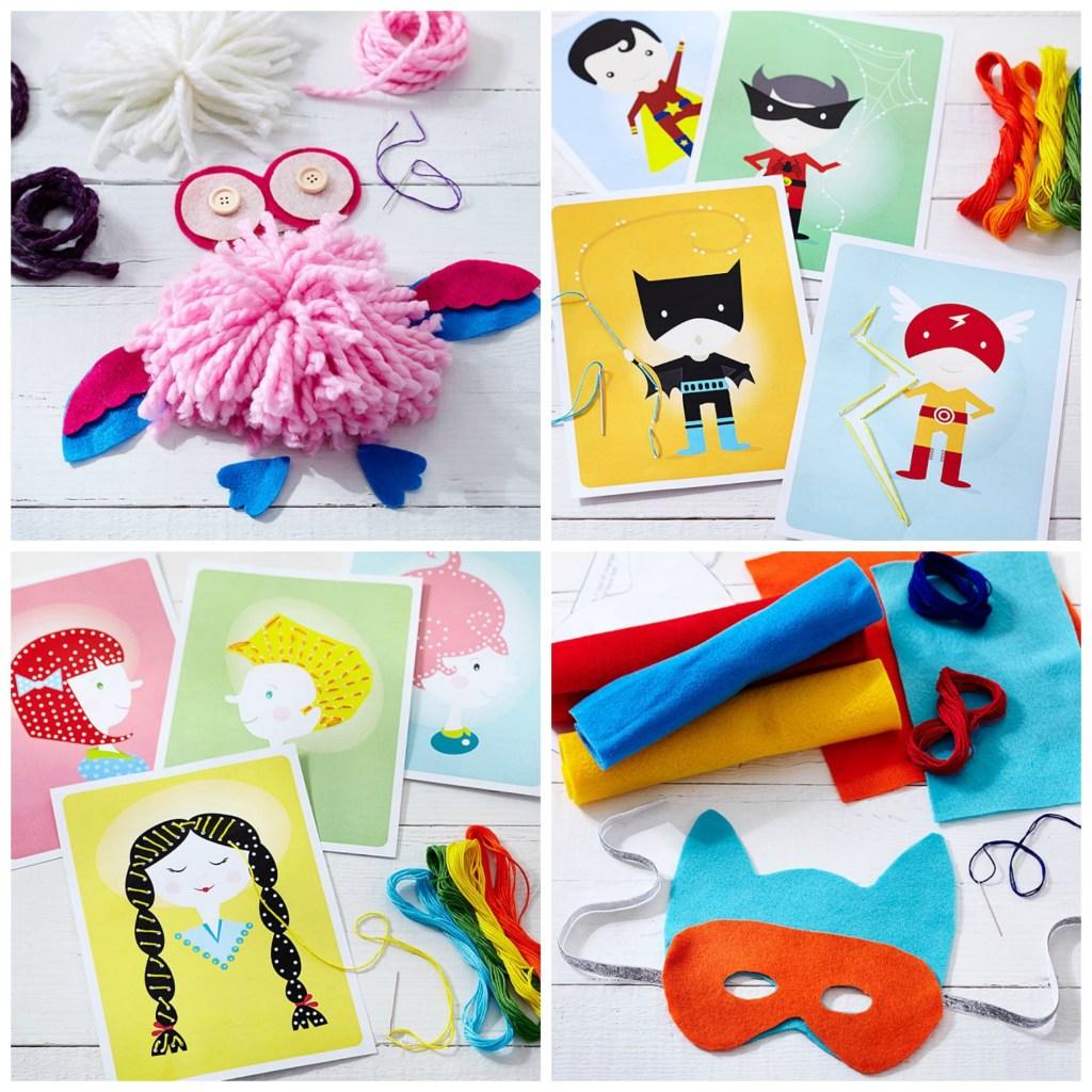 Handmade Charlotte DIY kits for Pottery Barn Kids