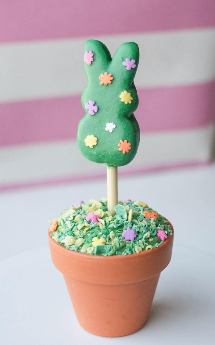 Peeps Topiary Cupcakes | Erin Gardner