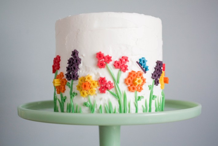 Twizzler Flower Cake | Erin Gardner | Handmade Charlotte