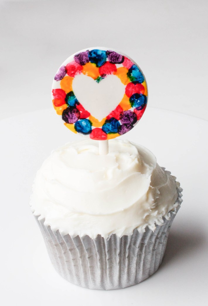 Confetti Cake & Cupcake Toppers | Erin Gardner for Craftsy