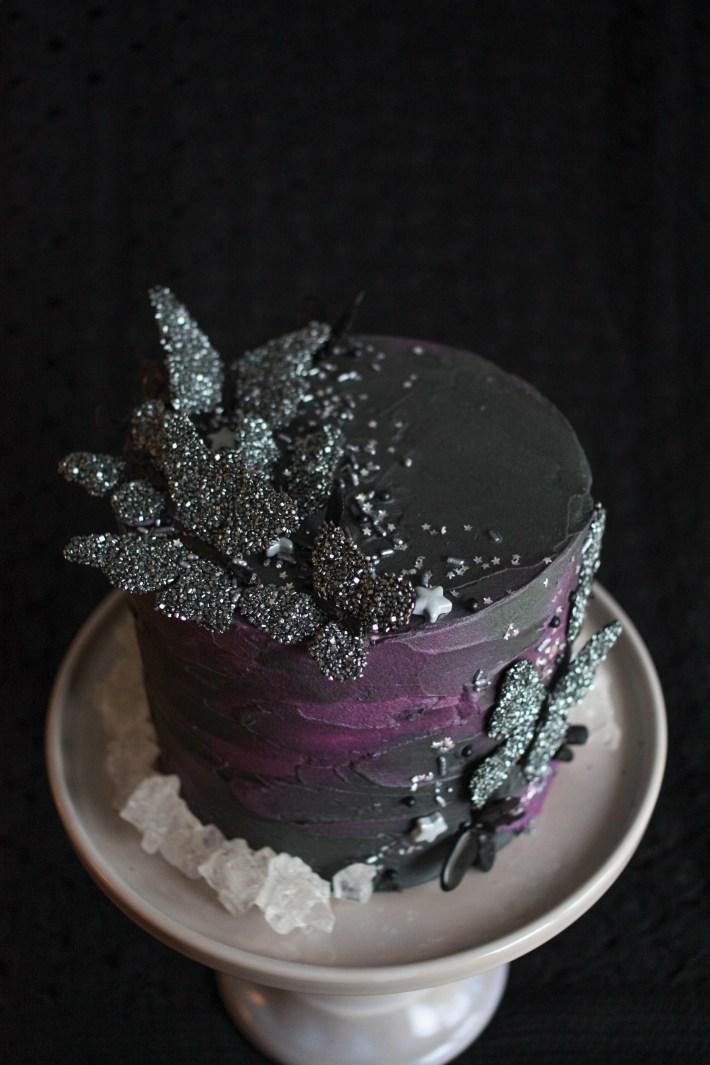 Black Butterfly Cake | Erin Gardner | ErinBakes.com