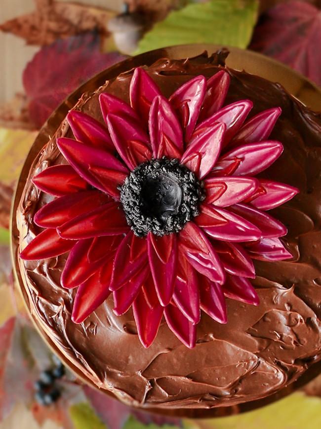 Chocolate Flower Tutorial   Chocolate Sunflower   Erin Gardner