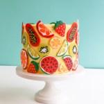 Summer Fruit Cake | Erin Gardner | Erin Bakes
