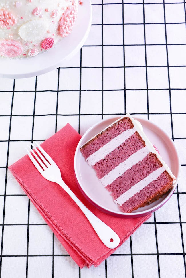 Raspberry Rose Cake Recipe with Flavor Variations | Erin Gardner | Erin Bakes