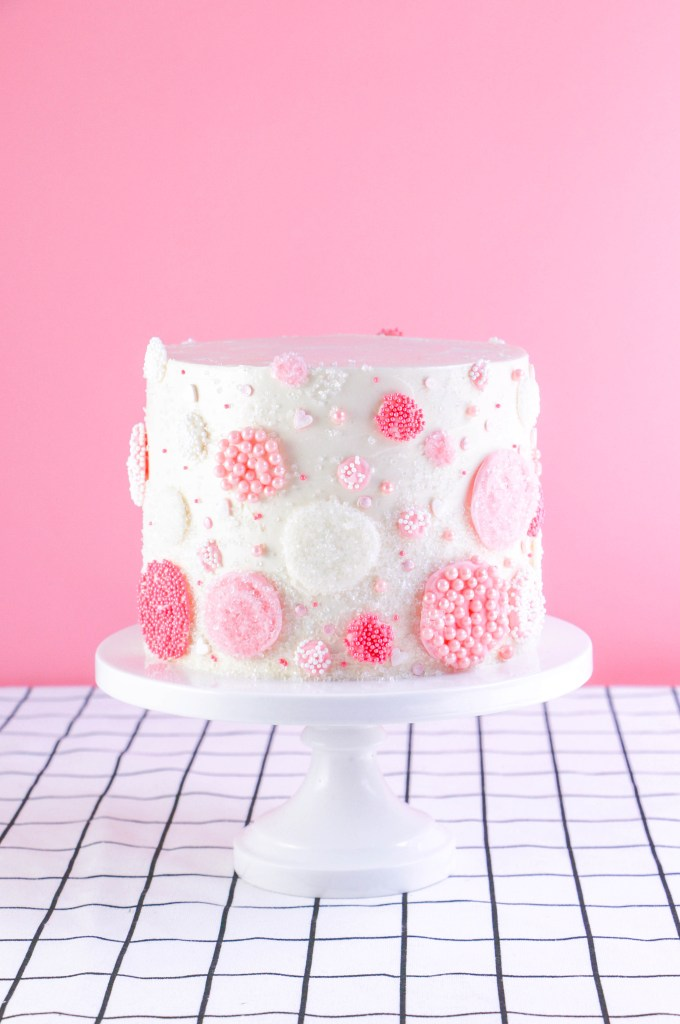Raspberry Rosé Cake Recipe on Erin Bakes
