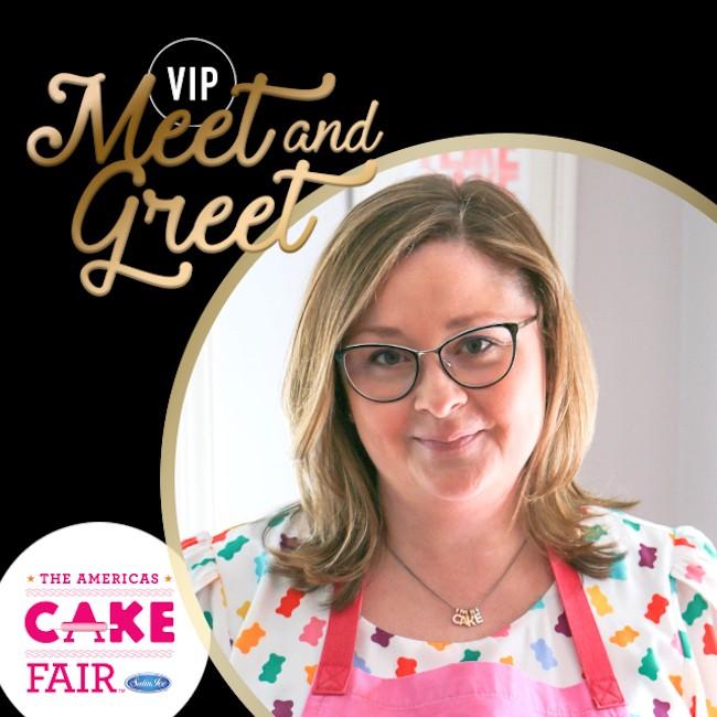 VIP Meet and Greet Cake Fair 2017