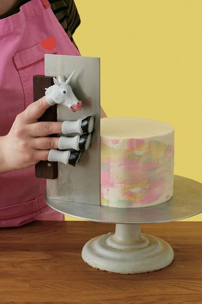 Handicorn and Large Bench Scraper from Erin Bakes Cake | Erin Gardner