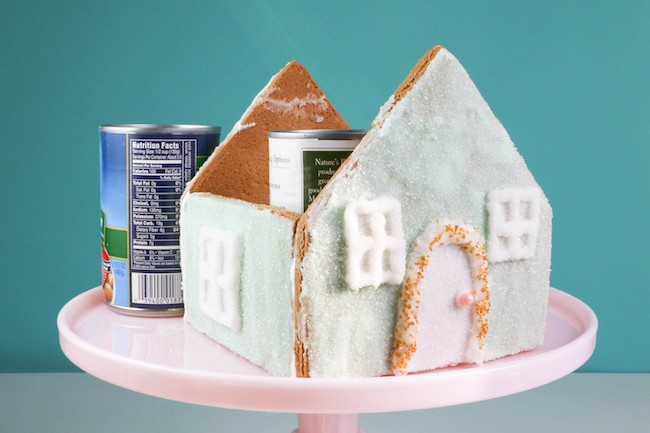 Assembling the Gingerbread House | Erin Gardner | Erin Bakes