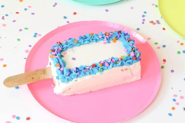 Ice Cream Cake Pop by Erin Gardner