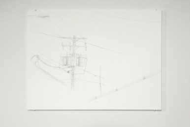"""Not-Yet Elegies II (Connection Series), 14"""" x 12"""", 2012."""