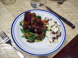 balsamic honey glazed lamb chops