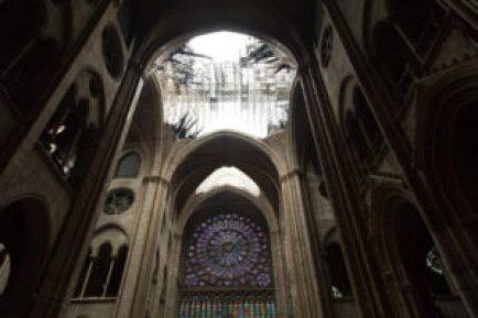 Notre Dame burned
