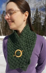 Celtic Cabled Scarf