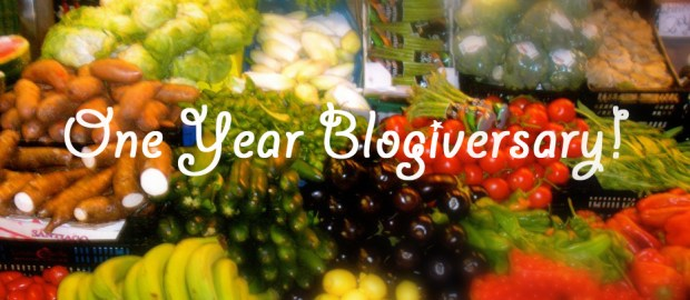 one year blogiversary