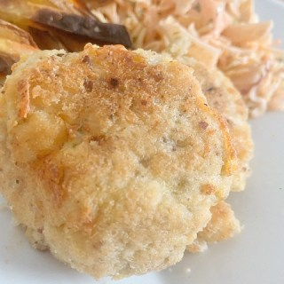 gluten-free cod cakes