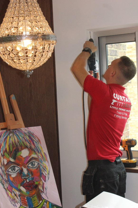 curtain track fitters west london