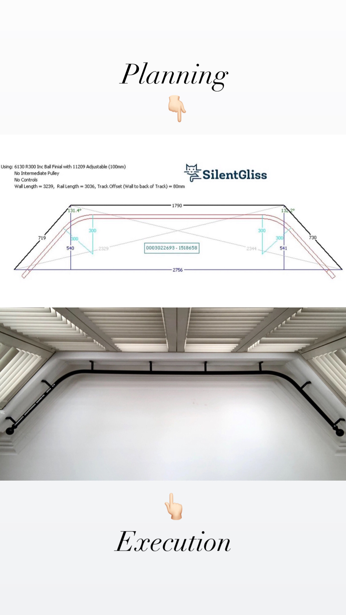 Silent Gliss 6130 Metropole from Planning to Execution