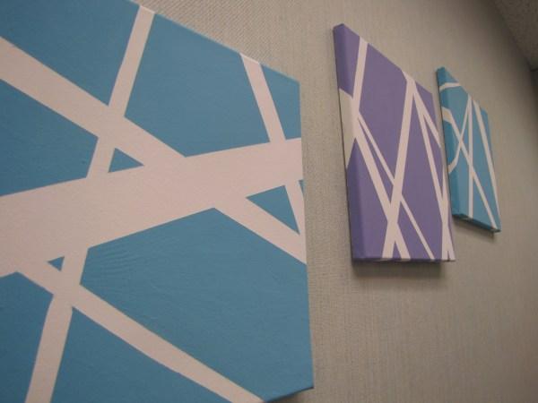 DIY Canvas Wall Art Ideas