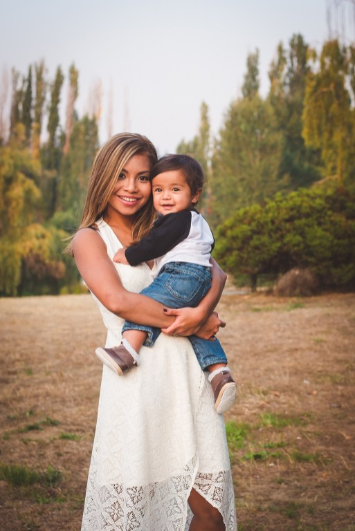 Kirkland family photographer and mother and son
