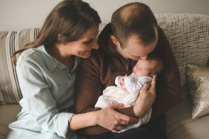 Darling Girl | Redmond WA Newborn Photographer