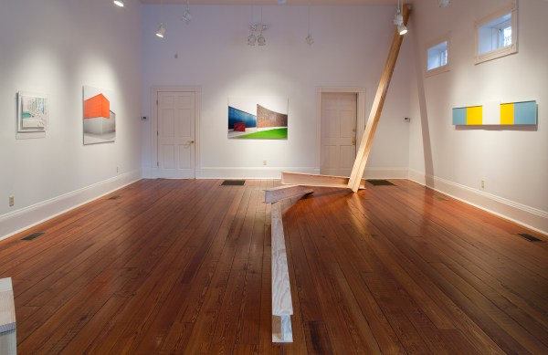 Group Exhibition Point Of Entry Space Art And Architecture Erin Dziedzic