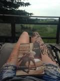 Henna tattoos and good books