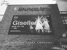 Saw The National Ballet of Canada for the FIRST time with Grandma! A wonderful day in June.