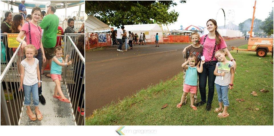 Kauai family activities at Kauai county fair