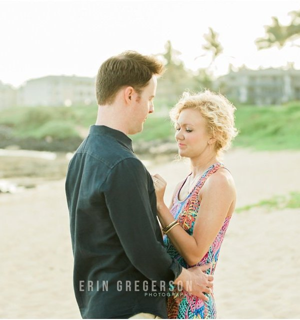Kauai Anniversary Photography | Shipwrecks Beach