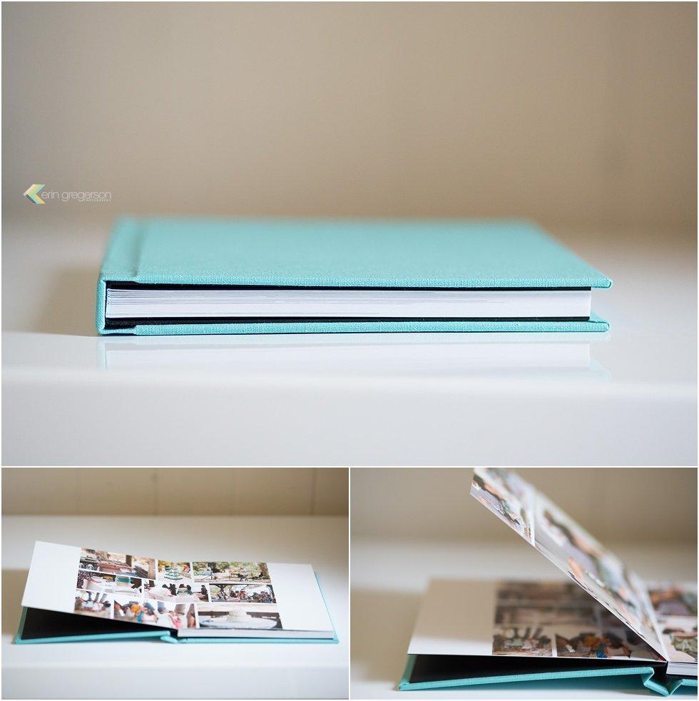 Photo album-aqua-linen-sample-images