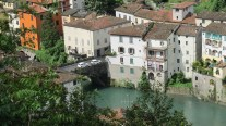 Looking down on Bagni di Lucca